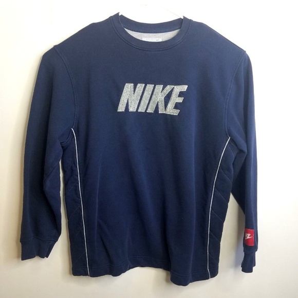 ⬇NIKE Spell Out Sweatshirt Retro 90s Vintage L